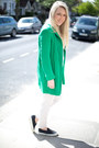 Green-coat-zara-jacket