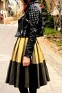 Jacket-vintage-skirt-vintage-blouse