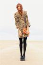 Beige-vintage-coat-purple-vintage-dress-black-steve-madden-shoes-dress