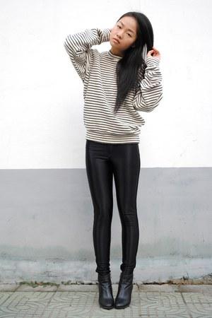 stripe American Apparel jumper - American Apparel pants