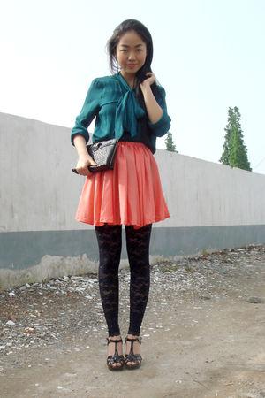 Zara shirt - skirt - leggings