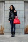Black-zara-jacket-zara-jeans-shoes