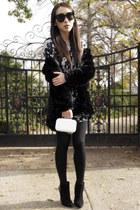 ivory Open Closet purse - navy Life With Bird dress