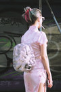 White-ebay-bag-light-pink-chinese-from-paris-dress