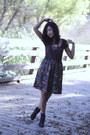 Qupid-boots-forever-21-blouse-vintage-skirt