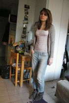 Zara cardigan - Primark sweater - La Redoute shoes - Mango jeans