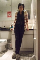 coincidence & chance sweater - Club Monaco blouse - Uniqlo jeans - Target shoes