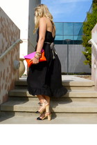 Jcrew dress - Jcrew bag - Jcrew belt - seychelles heels