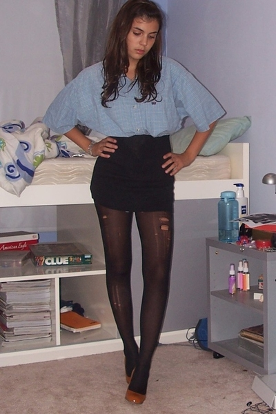 shirt - tights - joe shoes