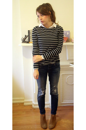 Aldo boots - Gap jeans - Forever 21 top