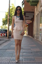 light pink za dress