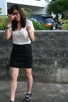 forever 21 shirt - forever 21 skirt - Zara shoes