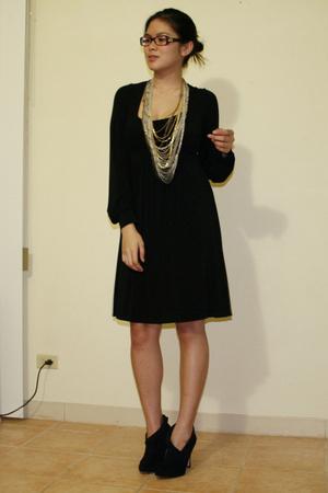 BCBG dress - f21 shoes - f21 necklace