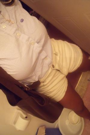 jeans - purse - blouse