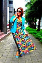Esprit dress - H&M blazer