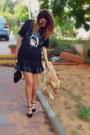 Heels-vintage-shoes-vintage-ann-taylor-purse-leather-pull-bear-skirt