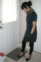 Ray Ban sunglasses - moms closet scarf - pacific mall dress - Urban Behaviour ti