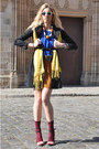 Blue-marni-for-hm-dress-black-bought-in-lhasa-jacket
