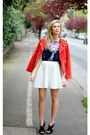 Blue-poppy-lux-t-shirt-ivory-shopping-bare-skirt