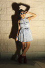 Pacsun-dress-pacsun-glasses-charlotte-russe-wedges