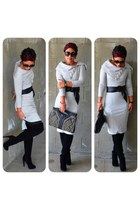 heather gray diy Mimi G dress