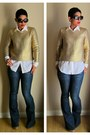 H-m-sweater-forever-21-jeans-diy-shirt-coach-bag