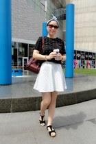 light blue Topshop skirt