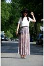 Pink-topshop-skirt