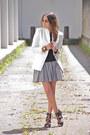 White-zara-blazer-black-gap-shirt-black-zara-heels