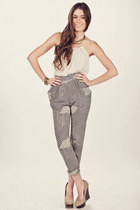 grey Minted Republic pants