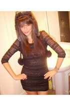 Topshop dress - River Island hat