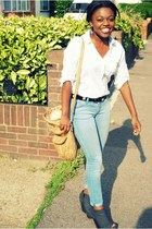 asoscom jeans - Miu Miu bag - vintage from Ebay belt - ebaycom wedges