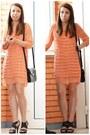 Carrot-orange-unknown-dress