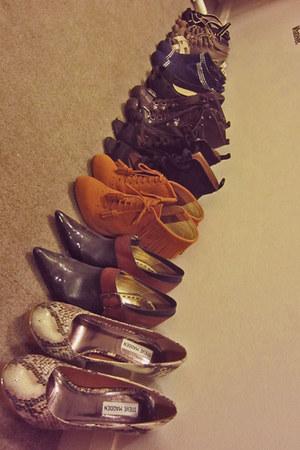 Mimco boots - Steve Madden heels