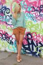 Madewell-shorts-jcrew-top-rachel-zoe-pumps