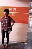 brothers blouse - Cheap Monday jeans - mustard shoes