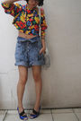 Purple-randombrand-top-vintage-levis-white-thrifted-blue-vnc-random-bran
