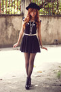 Black-leather-jeffrey-campbell-boots-black-oasap-dress