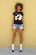 Target socks - Urban Outfitters shorts - Target sunglasses - Goodwill t-shirt