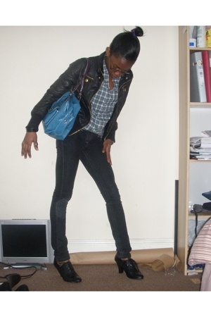 Topman shirt - Primark purse - new look shoes
