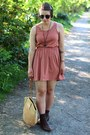 Vintage-boots-urban-outfitters-dress-cotton-on-dress