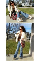decree jacket - Southpole Jeans jeans - rainbow-prints Nila Anthony purse