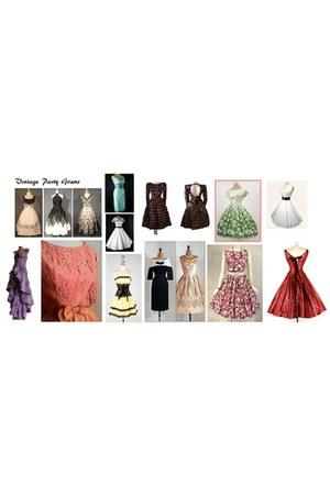 neutral dress - light pink dress - chartreuse dress - amethyst dress