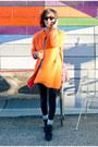 Suede-baggu-bag-round-frame-dries-van-noten-sunglasses-lewitt-cardigan