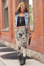 Call-it-spring-boots-call-it-spring-clutch-purse-hue-diy-bleached-pants
