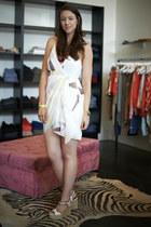 draped silk Alice  Olivia dress