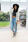 Charcoal-gray-topshop-shoes-beige-h-m-coat-sky-blue-river-island-jeans