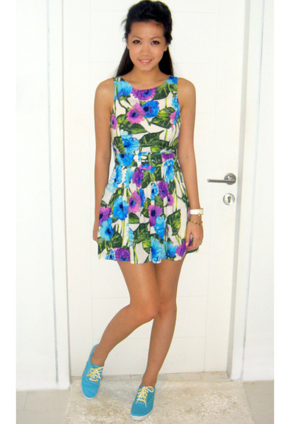 Forever21 dress - Keds shoes