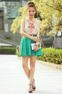Light-pink-red-valentino-bag-turquoise-blue-chicwish-skirt