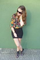 black Pull & Bear skirt
